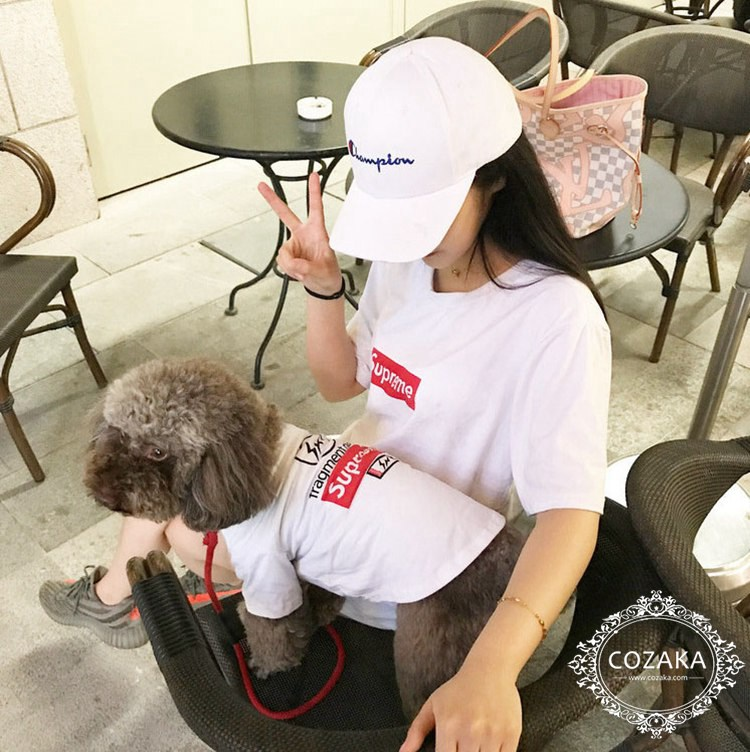 SUPREME x Fragment Design 犬服 専門店